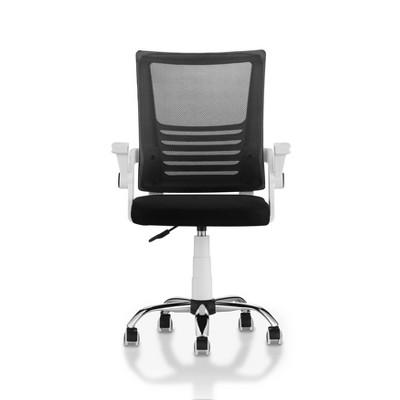 Erwin Cushioned Mesh Office Chair White - miBasics