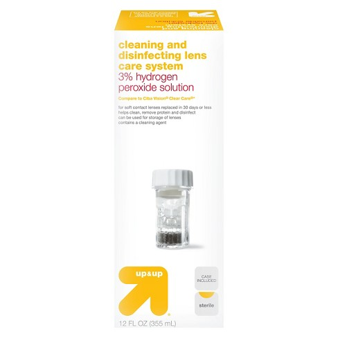 Peroxide Contact Solution - 12oz - Up&Up™ - image 1 of 1
