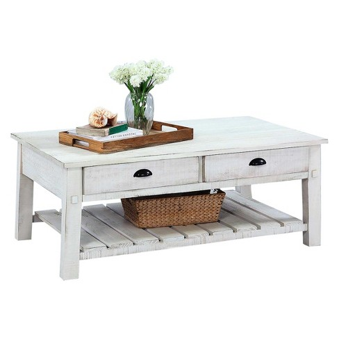 Willow Rectangular Cocktail Table - Distressed Pine - Progressive Furniture - image 1 of 1