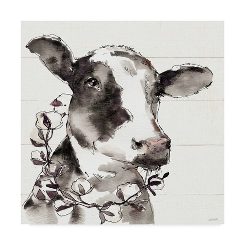 "14"" x 14"" Anne Tavoletti 'Country Life IV' Unframed Wall Canvas - Trademark Fine Art - image 1 of 3"