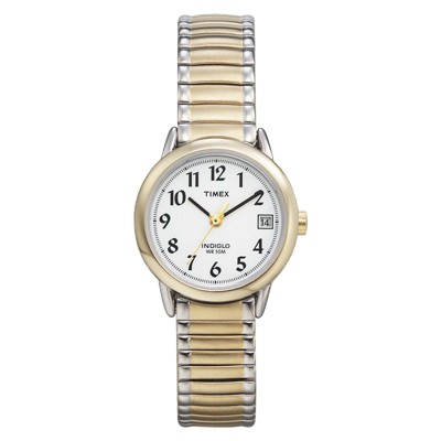 Women's Timex Easy Reader  Expansion Band Watch - Two-Tone T2H381JT