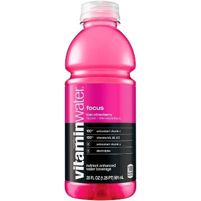 vitaminwater focus kiwi-strawberry - 20 fl oz Bottle
