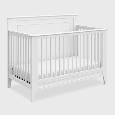 Storkcraft Solstice 4-in-1 Convertible Crib - White