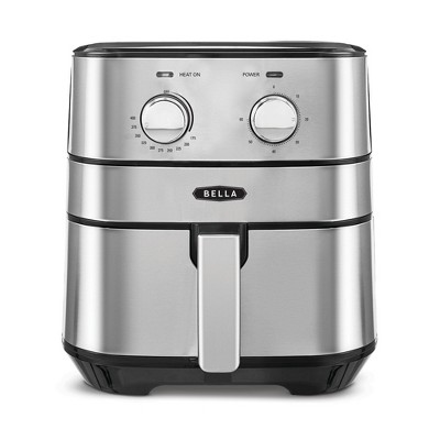 Bella 4qt Air Fryer Stainless Steel