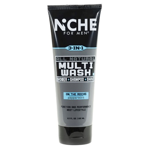 Niche For Men© All Natural Multi-Wash Peppermint Scent - 8.5oz - image 1 of 2