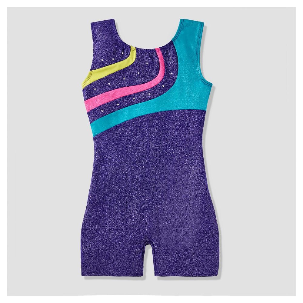 Girls' Freestyle by Danskin Biketard - Purple M