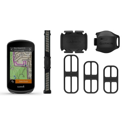 Garmin Edge 1030 Plus Advanced GPS Bike Computer Bundle - Black