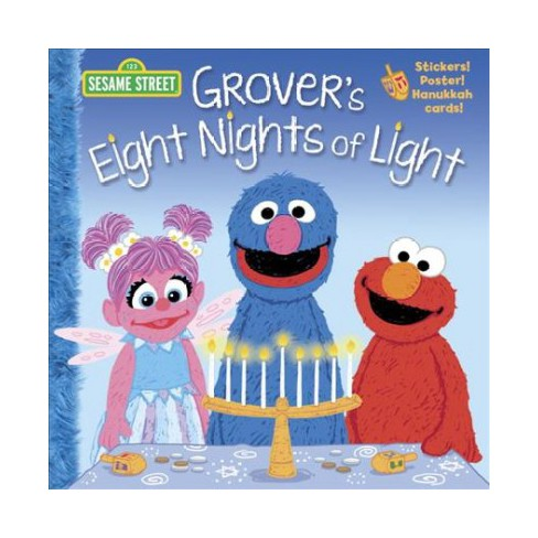 Grover's Eight Nights of Light (Sesame Street) - (Pictureback(r)) by Jodie  Shepherd (Paperback)