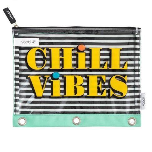 Chill Vibes Pencil Case - Yoobi™ - image 1 of 2