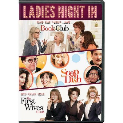 Ladies Night In 3-Movie Collection (Includes: Book Club/First Wives Club/Soapdish) (DVD)