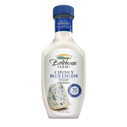 Bolthouse Farms Chunky Blue Cheese Creamy Yogurt Dressing - 14oz - image 1 of 4