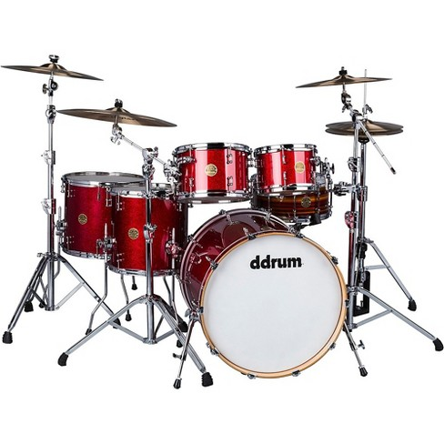 ddrum Dios 5-Piece Shell Pack Cherry Red Sparkle - image 1 of 4