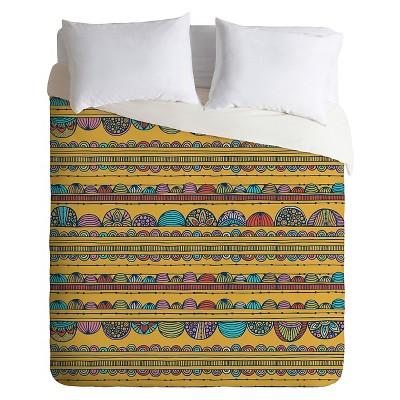 Valentina Ramos Tulip Duvet King Yellow - Deny Designs®