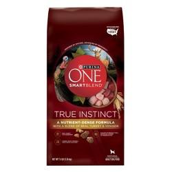 Purina® ONE SmartBlend True Instinct Premium Real Turkey & Venison Dry Dog Food