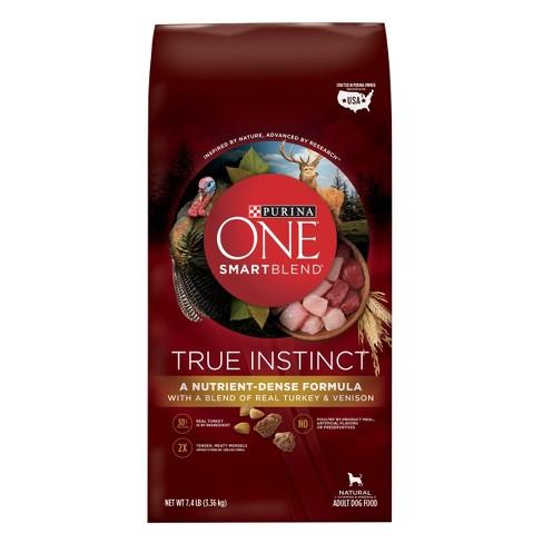 Purina® ONE SmartBlend True Instinct Premium Real Turkey & Venison Dry Dog Food - image 1 of 4