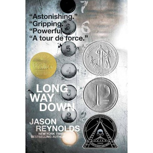 Long Way Down -  Reprint by Jason Reynolds (Paperback) - image 1 of 1