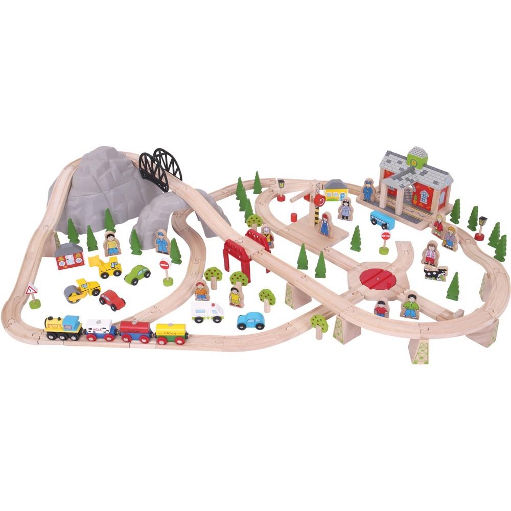 Mountain Railway Set, Toy Vehicle Playsets