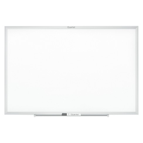 Quartet® Classic Melamine Whiteboard, 48 x 36, Silver Aluminum Frame ...