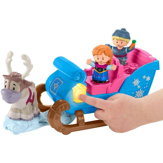 Fisher-Price Little People Disney Frozen Kristoff's Sleigh image number null