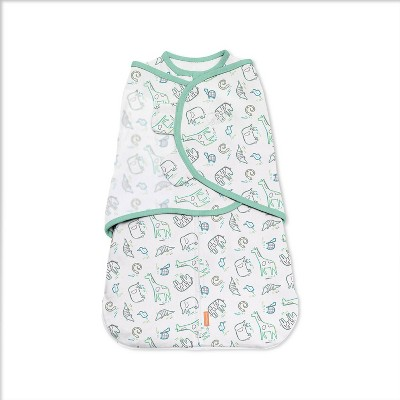 SwaddleMe Grow with Me Swaddle Wrap - Into the Wild - 0-6 Months