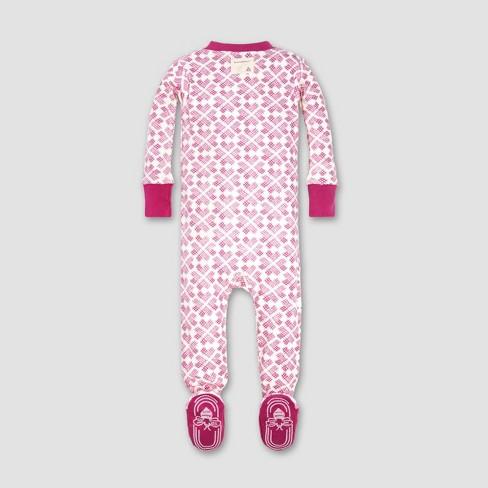 f48d1115f Burt s Bees Baby® Baby Girls  Stitched With Love Sleeper - Azalea ...