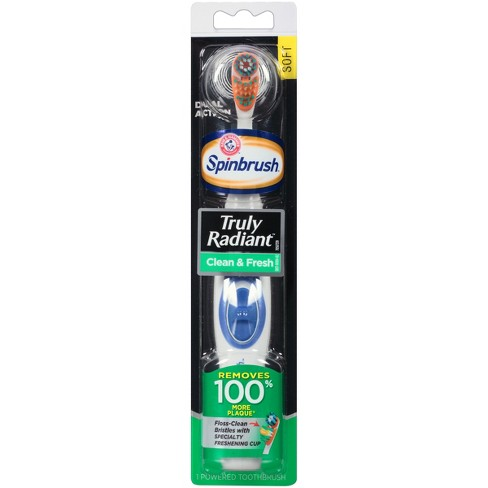 Spinbrush Dual Action Truly Radiant Powered Toothbrush - image 1 of 4