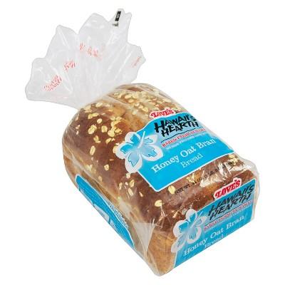 Love's Hawaii Hearth Honey Oat Bran Bread - 24oz