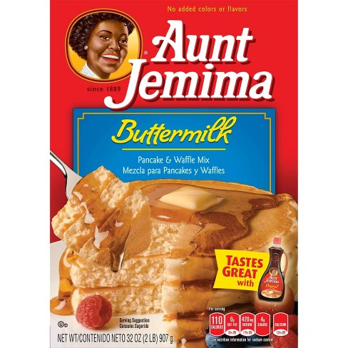 Aunt Jemima Buttermilk Pancake Mix - 32 oz - image 1 of 5