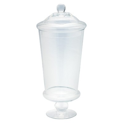 "Diamond Star Glass Apothecary Jar Clear (16""x6"")"