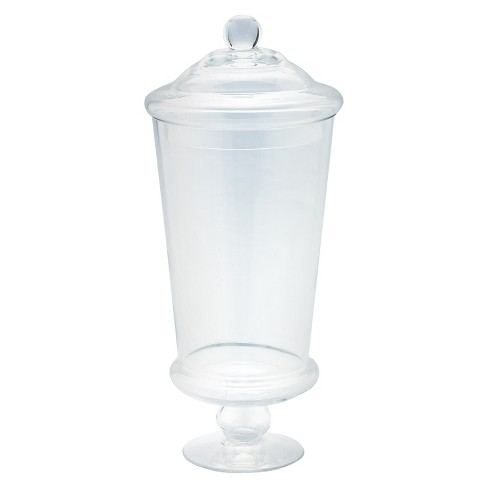 "Diamond Star Glass Apothecary Jar Clear (16""x6"") - image 1 of 1"