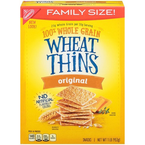 Wheat Thins Original Crackers - Family Size - 16oz - image 1 of 3