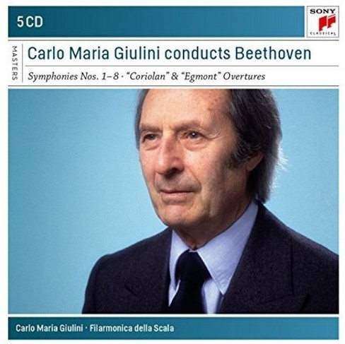 Carlo maria giulini - Carlo maria giulini conducts beethove (CD) - image 1 of 1