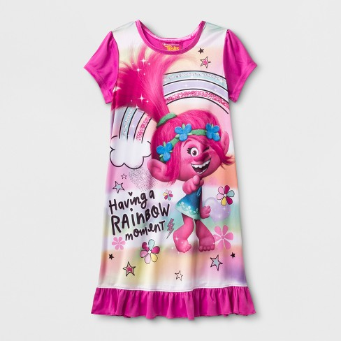 Girls' Trolls Poppy Nightgown - Pink - image 1 of 1