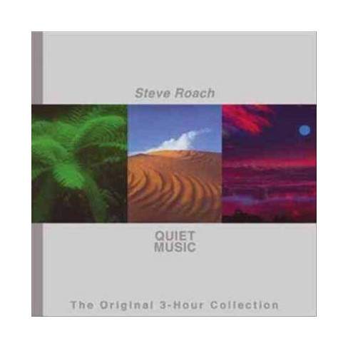 Steve Roach - Quiet Music: The Original 3-Hour Collection (CD) - image 1 of 1