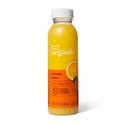 Organic Orange Juice - 12 fl oz - Good & Gather™