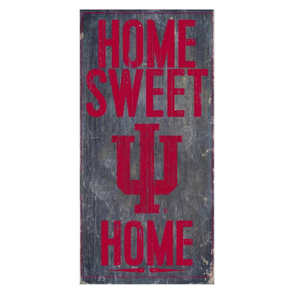 Indiana Hoosiers Home Sweet Home Sign