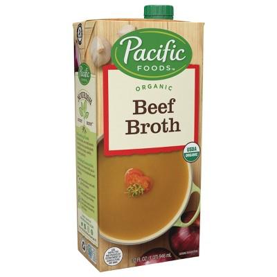 Pacific Foods Organic Gluten Free Beef Broth - 32oz
