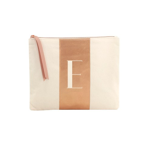 Makeup Bags And Organizer Letter E