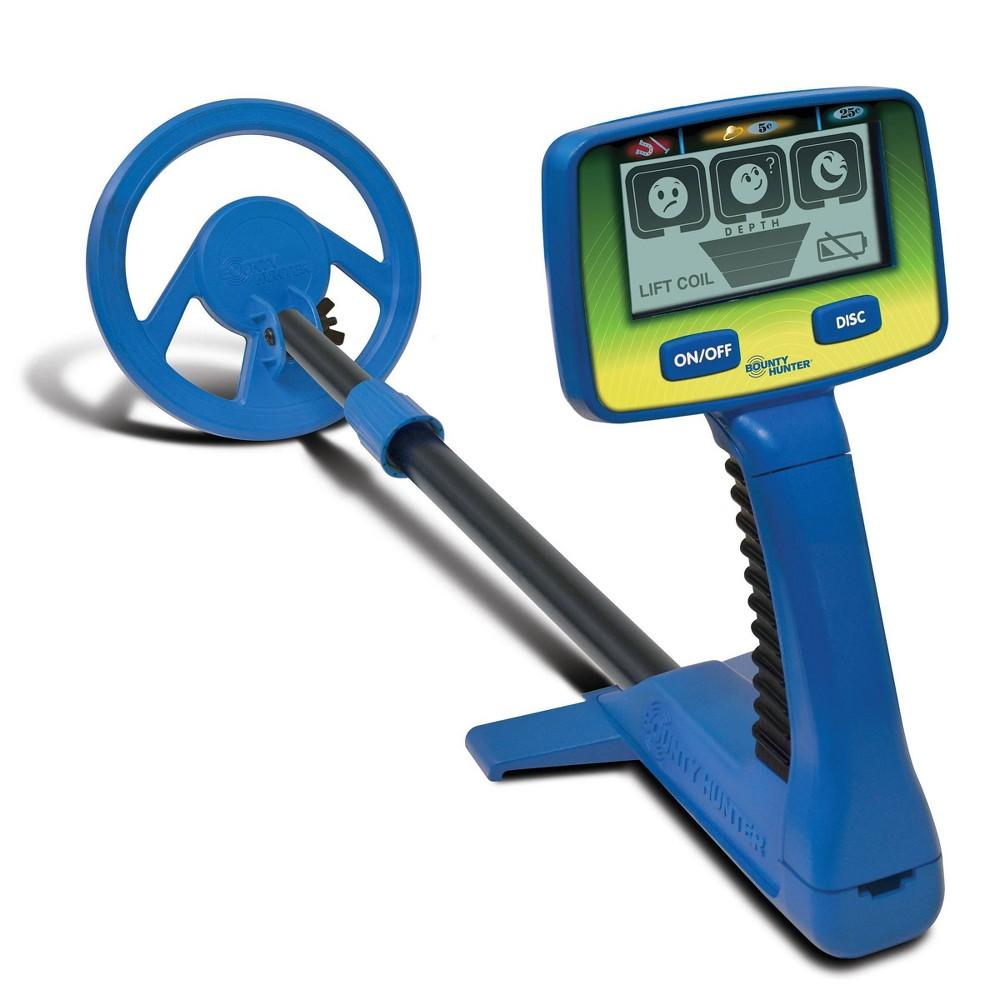 Image of Bounty Hunter Junior Target I.D. Metal Detector - Blue
