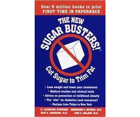 New Sugar Busters : Cut Sugar to Trim Fat (Paperback) (H. Leighton Steward) - image 1 of 1
