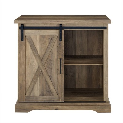 32  Rustic Farmhouse Buffet Rustic Oak - Saracina Home