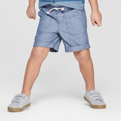 Toddler Boys' Texture Pull-On Shorts - Cat & Jack™ Blue