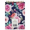 """6"""" x 8"""" 100 Sheet Lined Spiral Notepad Floral - greenroom - image 3 of 3"""