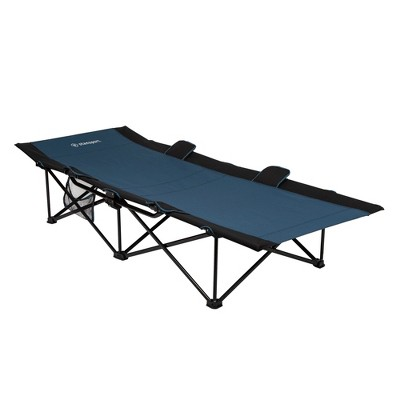 Stansport Heavy Duty Camp Cot Blue