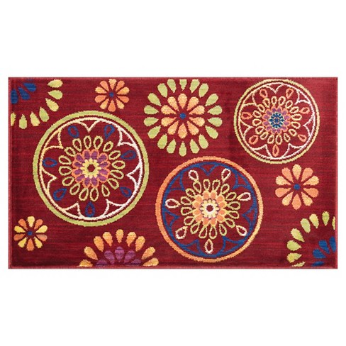 "Loloi Isabelle Accent Rug - Red (1'7""X2'6"") - image 1 of 1"