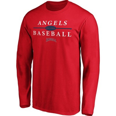 MLB Los Angeles Angels Men's Long Sleeve Core T-Shirt