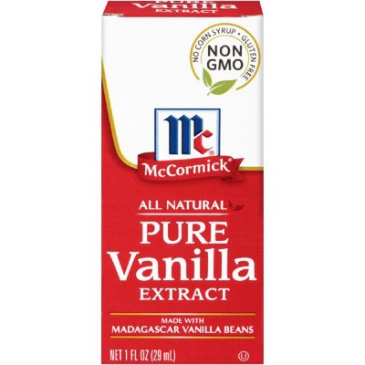 Extracts: McCormick Pure Vanilla Extract