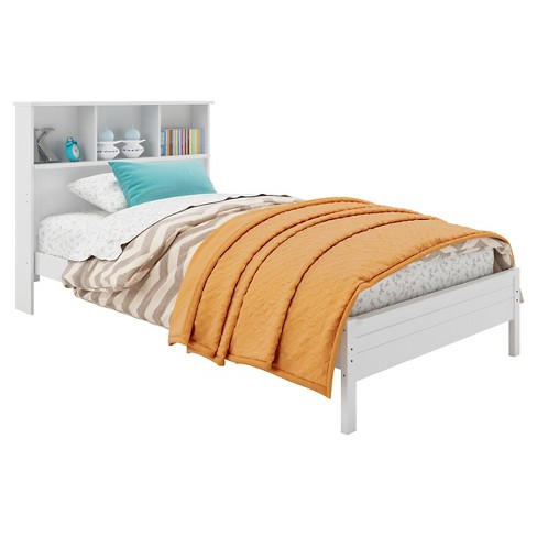 Ashland Kids Bed with Bookcase Headboard - CorLiving - image 1 of 3