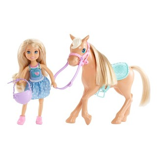 Barbie Chelsea Doll & Pony Playset
