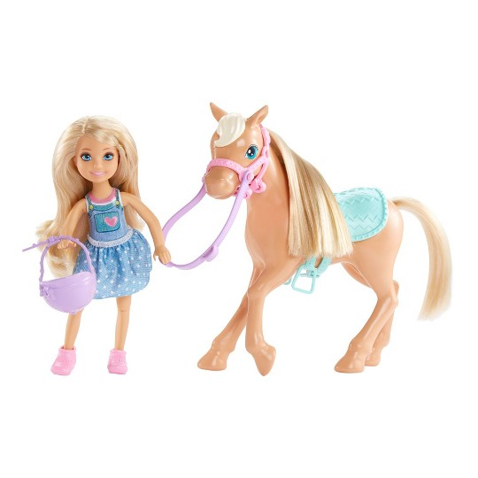 Barbie Chelsea Doll & Pony Playset image number null